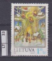 LITUANIA   1998Natale, 1,35, L Usato - Lituania