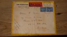 Enveloppe Par Hydravion AULO LIBAN : Beyrouth Marseille, Par Avion, 1930, Poste Aux Armées 610 ........ NU-Classeur T - Levant (1885-1946)