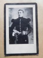Petrus Vertongen Brusseghem 1888 Fort Van Loncin 1914 WW1 Soldaat Bij De Vestingartillerie - Todesanzeige