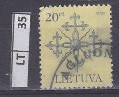 LITUANIA   2000Simboli, 20 C Usato - Lituania