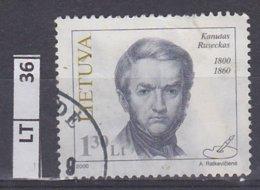 LITUANIA   2000Personalità 1,30 Usato - Lituania