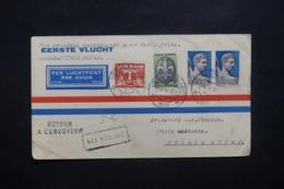 PAYS BAS - Enveloppe De Gravenhage Pour Pointe Noire Par 1er Vol Dakar / Pointe Noire En 1937 - L 42538 - Brieven En Documenten