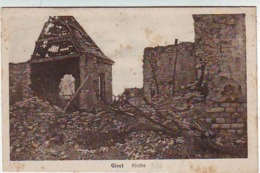 08.  GIVET . KIRCHE . RUINES . GUERRE DE 1914.1918 - Givet