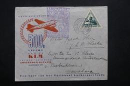 PAYS BAS - Enveloppe 1er Vol Amsterdam / Batavia En 1937, Affranchissement Et Cachets Plaisants - L 42539 - Periode 1891-1948 (Wilhelmina)
