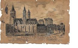 75 VIEUX PARIS Cpa L'Abbaye De SAINT GERMAIN DES PRES - Distrito: 06