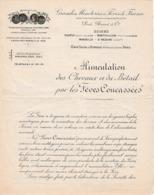 RENEVE, MONTIVILLERS Etc. Grandes Minoteries à FÈVES De France - PRAT, BASSOT & Cie - Historical Documents
