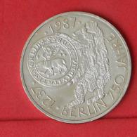 GERMANY FEDERAL REPUBLIC 10 MARK 1987 J - *SILVER*   KM# 166 - (Nº31400) - Other