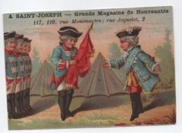 Calendrier -Chromo/A Saint-Joseph/Grands Magasins De Nouveautés/Rue Montmartre/Paris/1883  CAL468 - Non Classificati