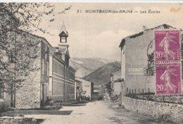 CPA 26 MONTBRUN LES BAINS LES ECOLES PUB DUBONNET - France