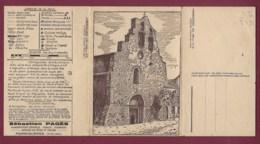011019 - CARTE PANORAMIQUE - 66 FORMIGUERES L'église Carte Géographique - Otros Municipios