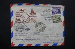 LUXEMBOURG - Enveloppe 1er Vol Luxembourg / Nice / Madrid En 1956 - L 42546 - Lussemburgo