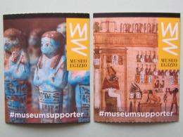 Museo Egizio, Torino, 2 Biglietti Di Ingresso (B_41) - Tickets - Vouchers