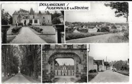 BOULANCOURT / AUGERVILLE-la-RIVIERE, Multivues, Envoi 1965, Cpsm Pf - France