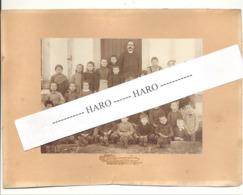Photo Sur Carton D'une Classe, école, élèves, Enfants - BASTOGNE Ou Environs ? (b263) - Lieux