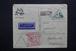 PAYS BAS - Enveloppe 1er Vol Amsterdam / Batavia En 1934 , Affranchissement Plaisant - L 42551 - Periode 1891-1948 (Wilhelmina)