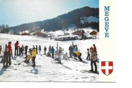 74 MEGEVE Cpm L'Ecole De Ski - Megève