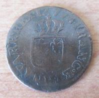 France - Monnaie Demi-sol Louis XVI 1777 H (La Rochelle) - B+ - Diam. 22mm Poids 2,4 Gr - 987-1789 Royal