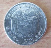 Colombie - Monnaie Veinte (20) Centavos 1920 En Argent - Colombia