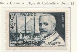 PIA - FRAN : 1948 : 1° Congresso Internazionale Del B.C.G. - (Yv 814) - Medicina