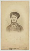 CDV 1868 Jamin & Cie à Paris . Homme Avec Collier De Barbe Et Casquette . - Photos
