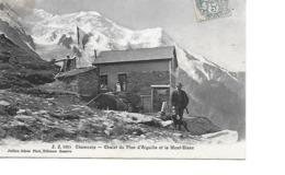 74 CHAMONIX Cpa Chalet Du Plan D'Aiguille Et Le Mont Blanc 1095 J.J - Chamonix-Mont-Blanc