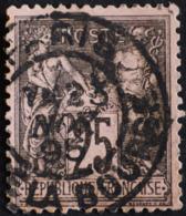 -Sage N°97 Type Ll.O.PARIS    Pl De Bourse  23 Nov 1895. - 1876-1898 Sage (Type II)