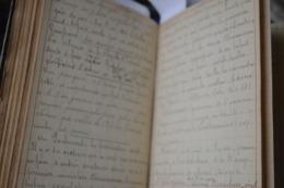Très Rare Livre Manuscrit 1925 Macédoine De Citations Et De Notes Par Eugène Colin Instituteur Honoraire Officier De L'i - Livres, BD, Revues