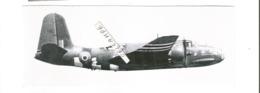 PHOTO AVION DOUGLAS BOSTON IVB GROUPE LORRAINE EN ROUTE VERS L OBJECTIF JUIN 1944 VILLE DE CAEN  ?  17X6CM RETIRAGE - 1939-1945: 2a Guerra