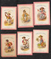 Serie Liebig RARA S9 Fanciulli In Costume (12 Figurine) R2 /Unificato 4250 Euro 1872-73 OTTIMO STATO - Liebig