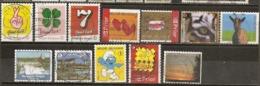 Belgique Belgium 200-  Good Luck, Animals Etc Etc Obl - Used Stamps