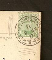 Oblitération Sainte-Adresse - Poste Belge -1917 - Gouvernement En Exil - Marcophilie