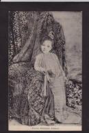 CPA Birmanie Princesse écrite Royalty Types Burma Myanmar - Myanmar (Burma)