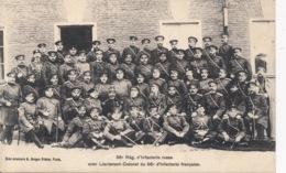 I120 - MILITARIA - RUSSIE - 56e Régiment D'Infanterie Russe Avec Lt-Colonel Du 56e Régiment D'Infanterie Française - Russie