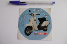 Autocollant Stickers - Moto Le Caviar Des Scooters SCOOTER BELUGA YAMAHA - Stickers