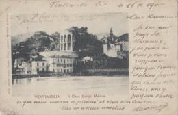 Italie - Ventimiglia - Vintimille - Il Cavo Borgo Marina - 1900 - Imperia