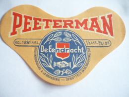 Belgische Bier Etiketten De Eendracht Leuven - Alcohols