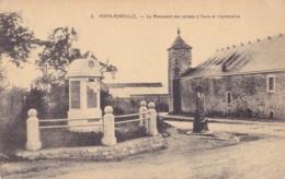 Awan-Aywaille Le Monument Aux Soldats D'Awan Et Chambralles Circulée En 1924 - Awans