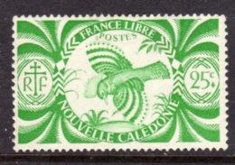 NEW CALEDONIA - 1942 KAGU BIRD STAMP FINE MOUNTED MINT MM * SG 269 - New Caledonia