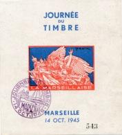 I120 - Timbre Marseille - JOURNÉE DU TIMBRE - 14 OCTOBRE 1945 - N° 143 - Unused Stamps
