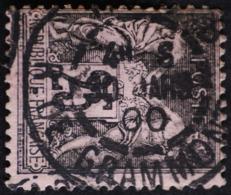 -Sage N°97 Type Ll.O.PARIS Rue De  Grammont 30 Mars 1900.( Bur 8 ) - 1876-1898 Sage (Type II)