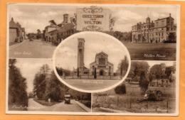 Wilton UK 1930 Postcard - Andere