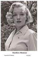 MARILYN MONROE - Film Star Pin Up PHOTO POSTCARD - 201-628 Swiftsure Postcard - Mujeres Famosas