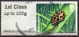 GREAT BRITAIN 2016 Post & Go: Ladybirds. Water Ladybird - Post & Go Stamps