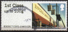GREAT BRITAIN 2016 Post & Go: Royal Mail Heritage. Mail By Rail. TPO Bag Exchange - Great Britain