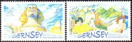 CEPT / Europa 2006 Guernesey N° 1099 Et 1100 ** L'intégration - 2006