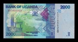 Uganda 2000 Shillings 2017 Pick 50d SC UNC - Oeganda