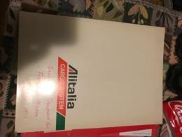 STUPENDA CARTELLINA INTESTATA ALITALIA - Non Classificati