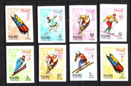 Manama  - 1967. Bob, Pattinaggio, Hockey,Fondo,Salto, Sci Alpino. Skating, Hockey, Cross-Country, Jumping, Alpine Skiing - Inverno1968: Grenoble