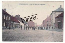 Sterrebeek (Mechelsesteenweg - Color)  Uitg. Marcovici       Mooi - Zaventem