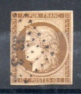 YT N° 1a - Cote: 450,00 € - 1849-1850 Ceres